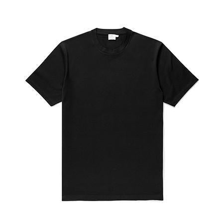 Black Riviera Crew-Neck T-Shirt