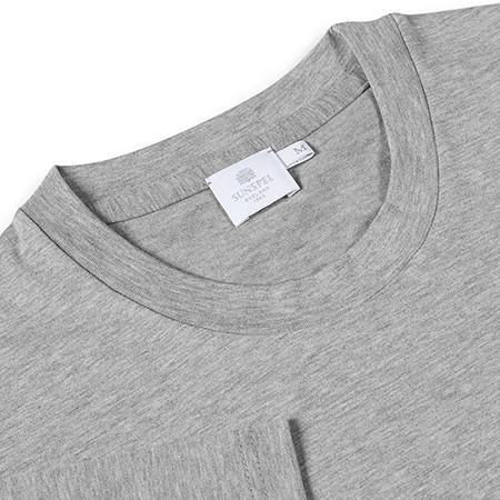 Grey Melange Riviera Crew-Neck T-Shirt