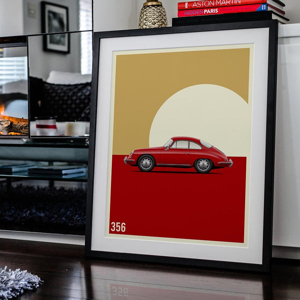 Vintage Excellence - 356 Car Poster