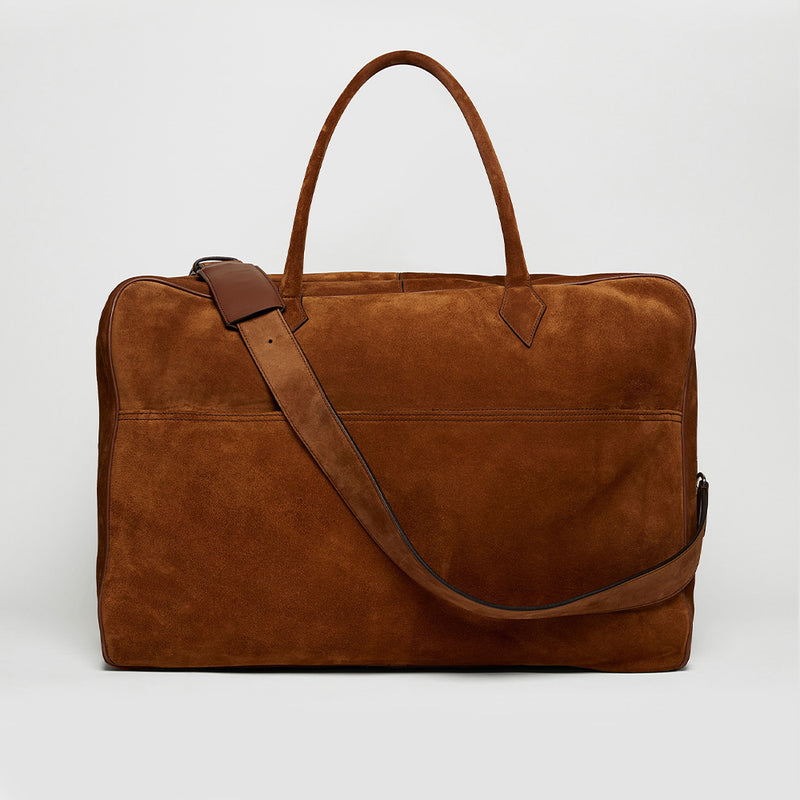 Marrakech Suede Closer Weekend Bag
