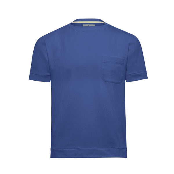 Sky Boat Neck Cutter T-Shirt