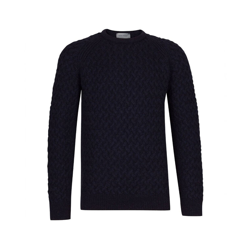 British Blue Hillside Pullover