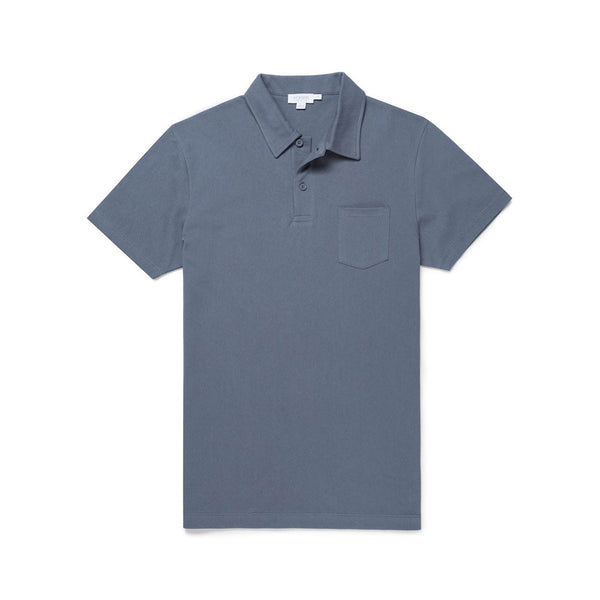 Blue Slate Riviera Polo Shirt