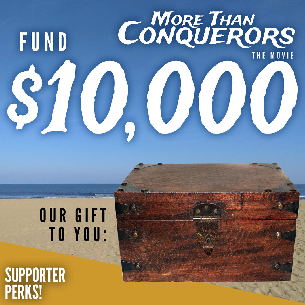 Fund $10000 of More Than Conquerors - The Movie