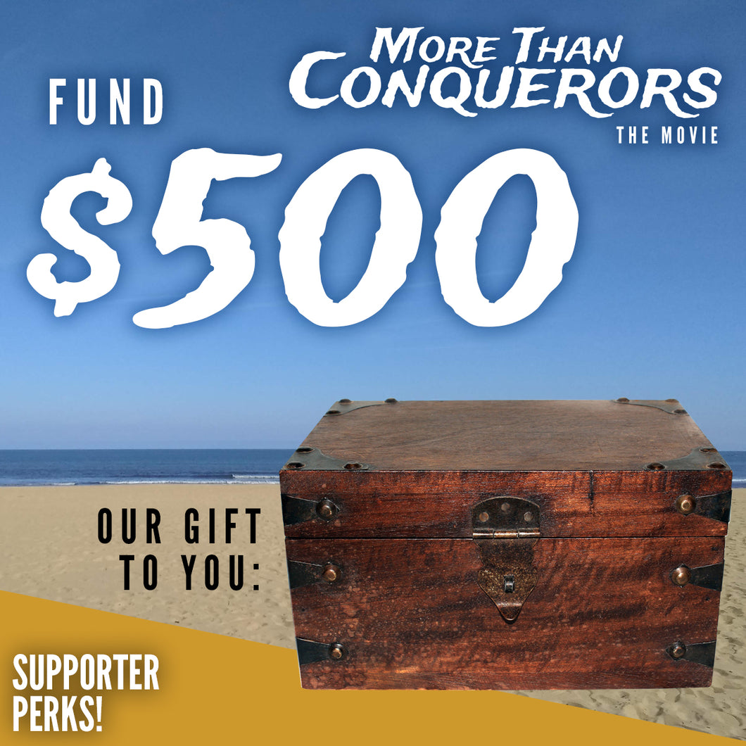 Fund $500 of More Than Conquerors - The Movie
