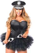 Load image into Gallery viewer, Lavish Flirty Cop Corset Costume