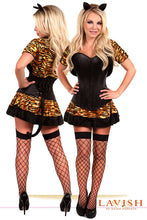 Load image into Gallery viewer, Lavish 4 PC Sexy Tigress Costume