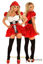 Load image into Gallery viewer, Top Drawer 3 PC Red Riding Hood Costume