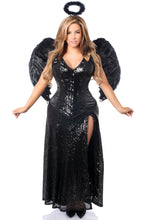 Load image into Gallery viewer, Top Drawer Premium Angel of Darkness Corset Costume