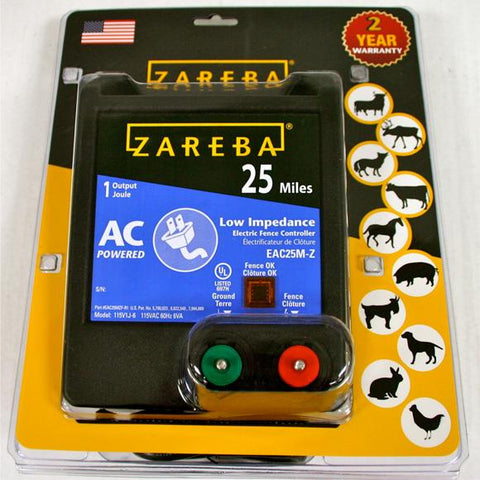 Zareba | 25 Mile AC Low Impedance Charger