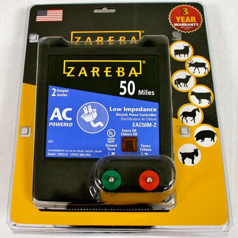 Zareba | 50 Mile AC Low Impedence Charger