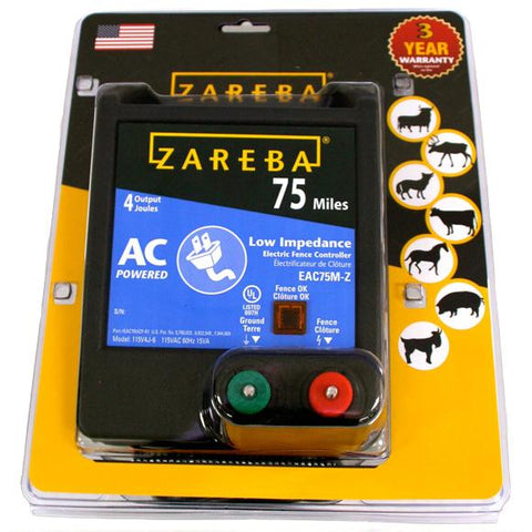 Zareba | 75 Mile AC Low Impedence Charger