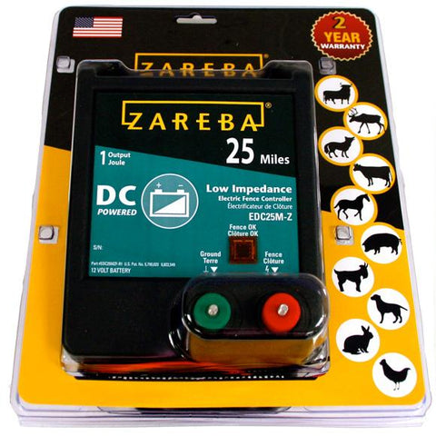 Zareba | 25 Mile Battery Operated Low Impedance Charger