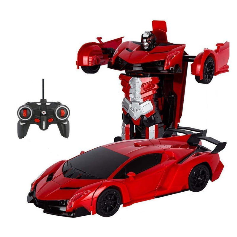 Remote Control Transforming Robot Car