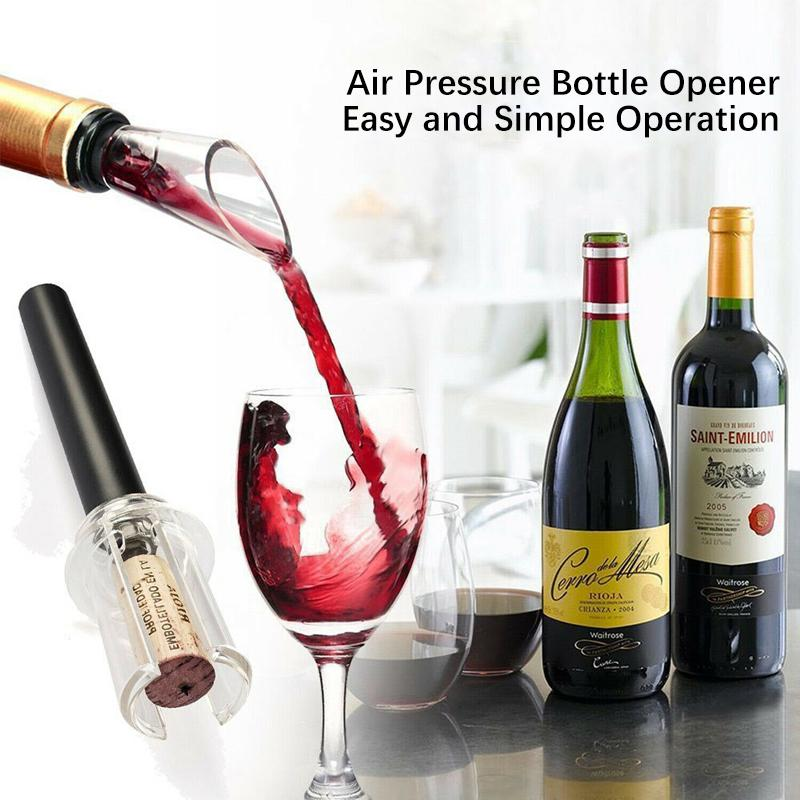 Air Pressure Bottle Opener