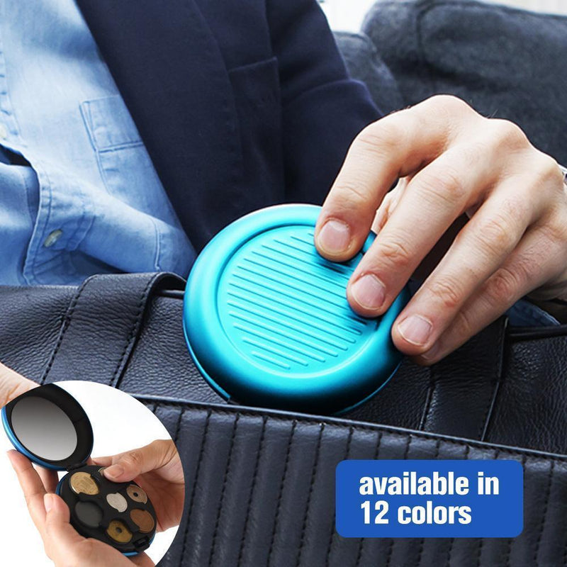 Aluminum Alloy Coin Dispenser, 12 colors