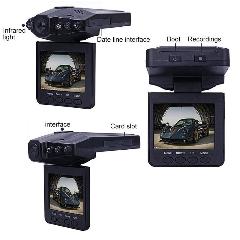 1080P 2.5-inch screen 5 million pixel infrared night vision aircraft head-mounted drivetrain