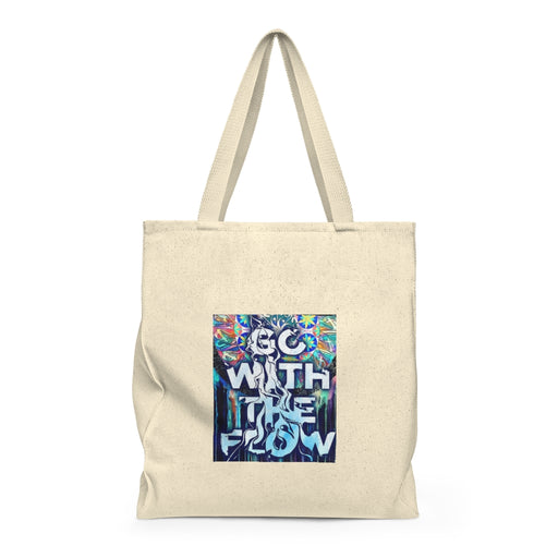 Go with the Flow - Shoulder Tote Bag - Roomy