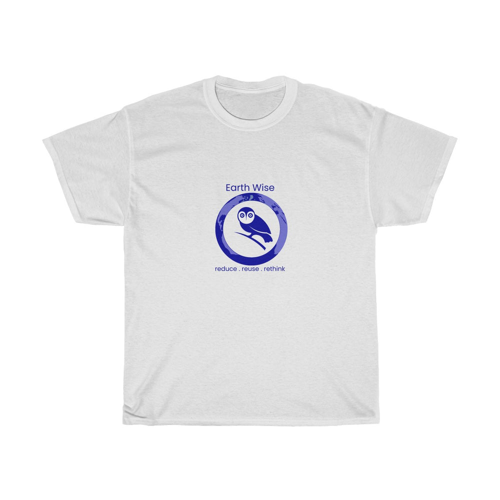 Add your Logo - Act Earth Wise Unisex Heavy Cotton Tee