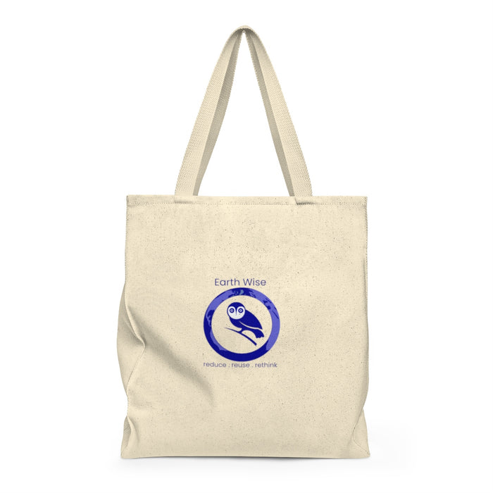 Add your Logo - Act Earth Wise Shoulder Tote Bag - Roomy