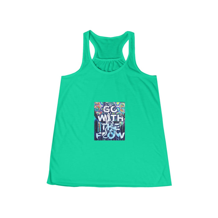 Go with the flow - Women's Flowy Racerback Tank