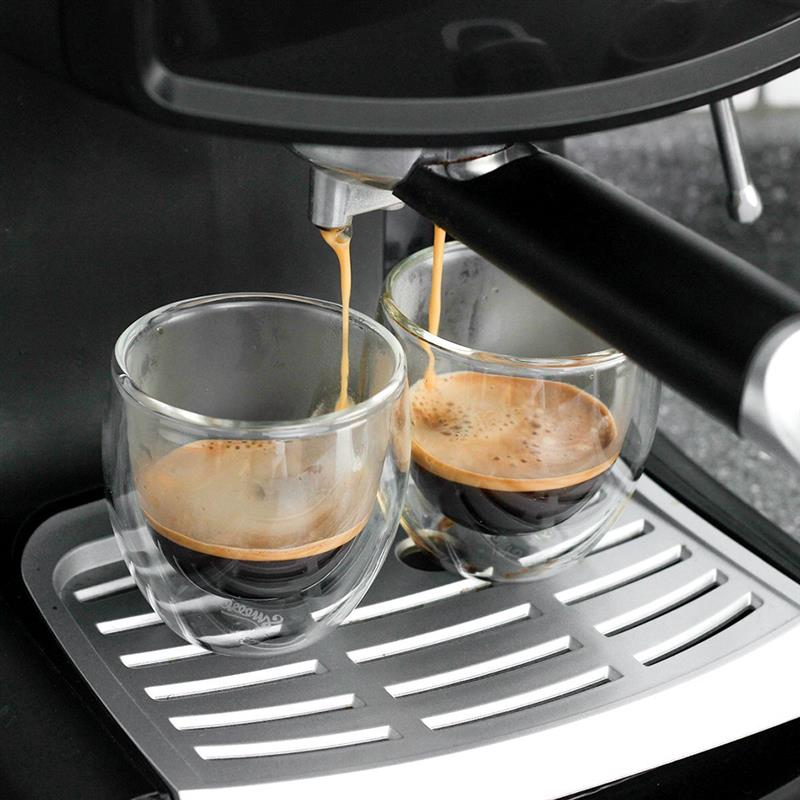 Double Wall Insulated Espresso Cups - 4 pcs