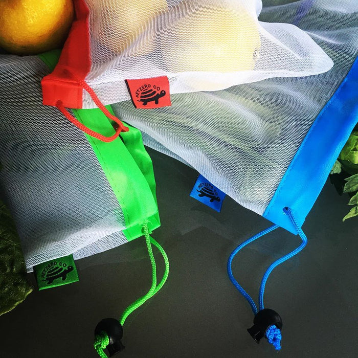 Eco Friendly Reusable Mesh Produce Bags