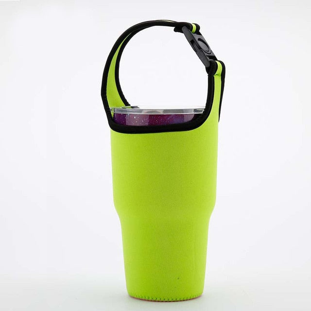 Travel Mug with Sleeve Carrier