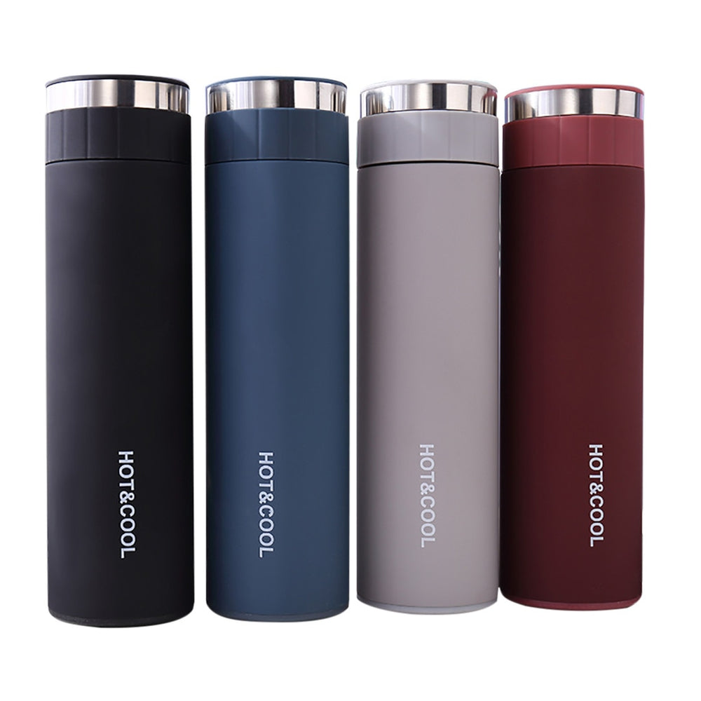 Double Wall Vacuum Travel Sport Thermos - 500 ml