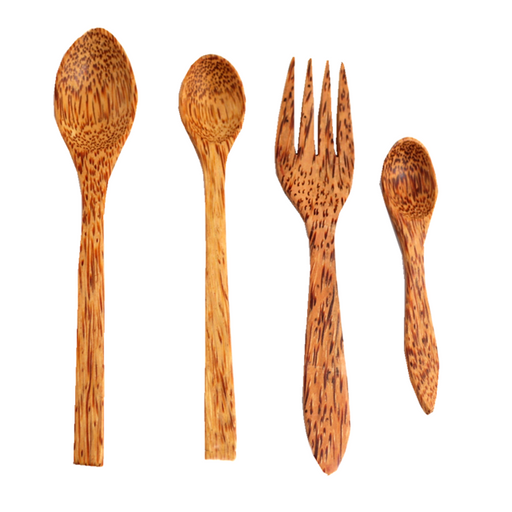 Natural Bamboo Travel Cutlery Set