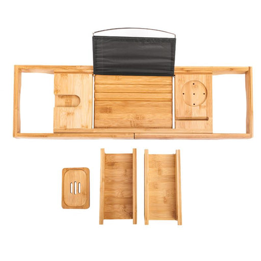 Multi-Functional Wooden  Retractable Tray Shelf