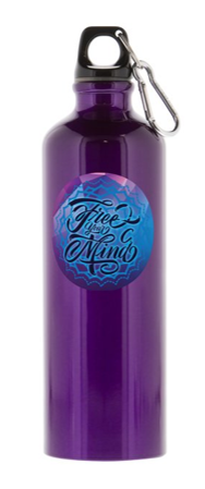 Free Your Mind - 26 oz. Aluminum Water Bottle
