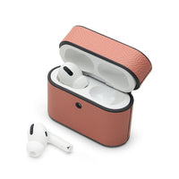 AirPods Pro Case: Italian Saffiano Pink - AirPodsCases.co.uk
