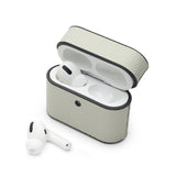 AirPods Pro Case: Italian Saffiano White - AirPodsCases.co.uk