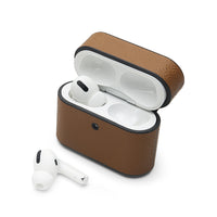 AirPods Pro Case: Italian Saffiano Tan - AirPodsCases.co.uk