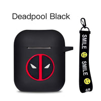 AirPods Case: Marvel Silicone Deadpool Rope - AirPodsCases.co.uk