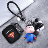 AirPods Case: Marvel Silicone Superman Doll - AirPodsCases.co.uk