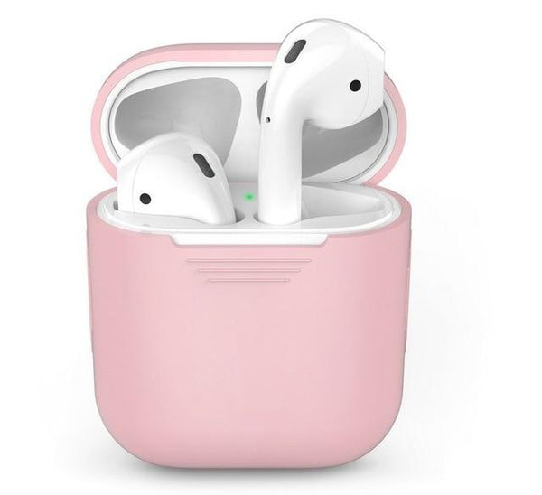 AirPods Case: Silicone Pink - AirPodsCases.co.uk