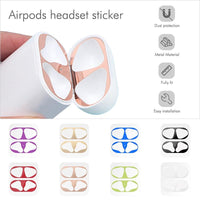 AirPods: Dust Guard Sticker - AirPodsCases.co.uk