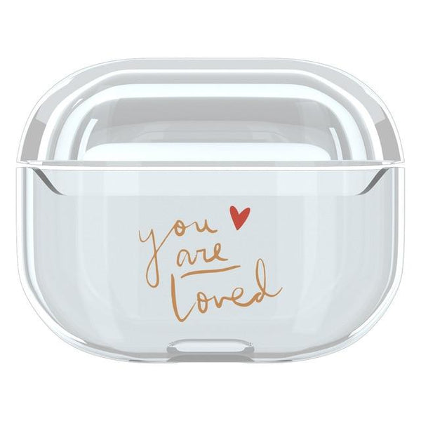 AirPods Pro Case: Cartoon Clear You Are Loved - AirPodsCases.co.uk