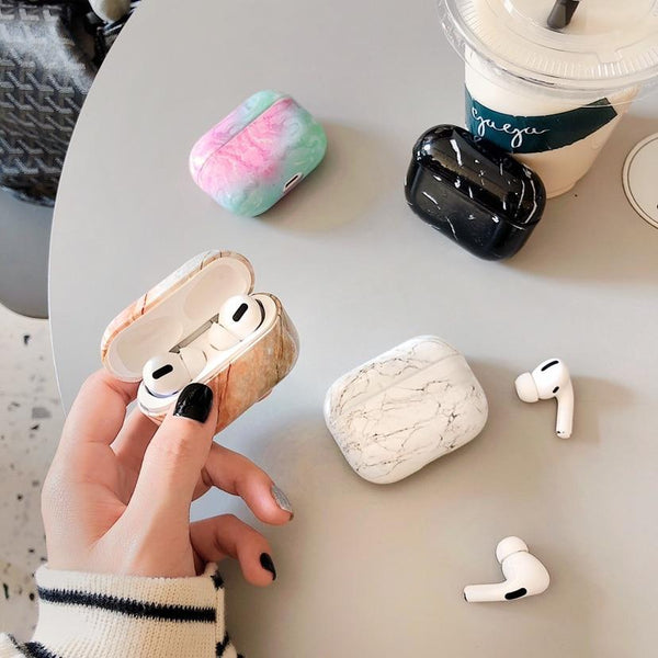 AirPods Pro Case: Marble - AirPodsCases.co.uk