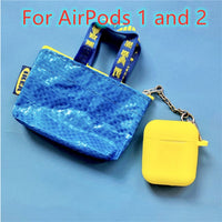 AirPods Cases: IKEA Silicone Yellow - AirPodsCases.co.uk