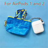 AirPods Cases: IKEA Silicone White - AirPodsCases.co.uk