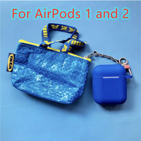 AirPods Cases: IKEA Silicone Blue - AirPodsCases.co.uk