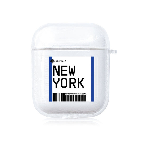 AirPods Case: City New York - AirPodsCases.co.uk