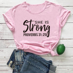 She Is Strong Proverbs 31:25