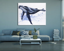 "Load image into Gallery viewer, ""Big Blue"" Fine Art Print"
