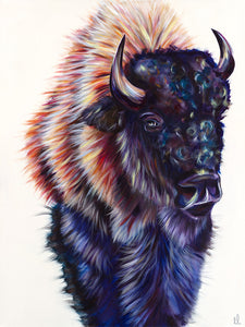 """Buff-Fellow"" Fine Art Print"