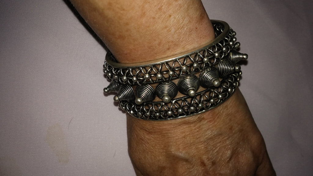 Miao Bracelet Cuff Spiked Power Jewels