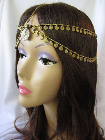 Headpiece and Hair Swags Double Headpiece